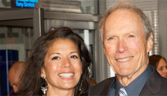 Dina & Clint Eastwood 'did not speak much' at his daughter's wedding: uh-oh?
