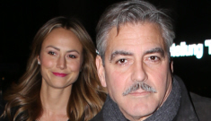 George Clooney showering Stacy Keibler with gifts, so he'll dump her soon