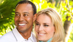 Enquirer: Tiger Woods tried reuniting with Elin while  dating Lindsey on the side