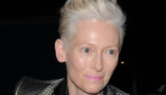 Tilda Swinton has started taking naps in a glass box at MoMA.  It's ART.