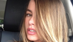 Sofia Vergara shows off her new (original!) blonde hair: pretty or unflattering?