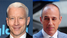 Anderson Cooper may replace Matt Lauer: would you watch Coop on 'Today'?