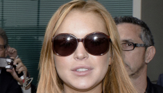 Lindsay Lohan is a crackie homewrecker, she slept with some woman's fiancé