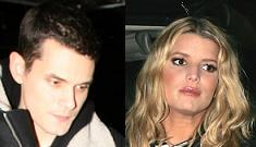 John Mayer leaves art opening to avoid meeting up with Jessica Simpson