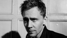 Tom Hiddleston's Flaunt pictorial, with dragonflies: too cutesy or just sexy?
