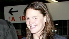 Jennifer Garner checks into the hospital