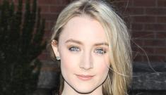 """Saoirse Ronan looks incredibly beautiful in Proenza Schouler"" links"