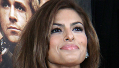 Eva Mendes in orange Prada at the NYC 'TPBTB' premiere: sexy or disastrous?