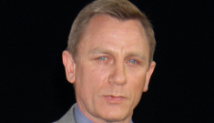 """Daniel Craig was paid $1 million for 7 minutes of """"work"""" at a car show: grumpy sellout?"""
