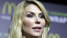 Brandi Glanville's all-leather ensemble at the McWrap launch: tacky or sexy?