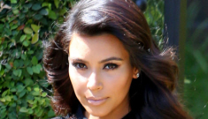 Kim Kardashian: 'I think it's a little bully-ish to call a pregnant woman fat'