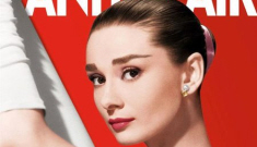 Audrey Hepburn covers Vanity Fair's May issue, she didn't think she was beautiful