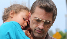 Olivier Martinez assaulted a paparazzo at LAX in front of Halle Berry & Nahla