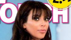 In Touch: Kim Kardashian was lying about gaining 20 lbs, she's really gained 50