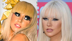 Lady Gaga thanks Christina Aguilera for copying her style