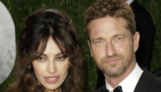Did Gerard Butler dump his girlfriend after remembering how much he loves strange?