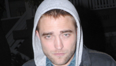 Why was Robert Pattinson partying with Vince Vaughn & Joaquin Phoenix?