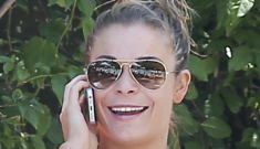 LeAnn Rimes poses in a bikini while on vacation in Miami, complains about paps
