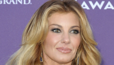 Faith Hill in Chado Ralph Rucci at the ACM Awards: inappropriate or lovely?