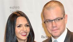 Matt Damon & Luciana's beach vow renewal ceremony officiated by Jimmy Kimmel