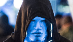 If you've ever wondered what Jamie Foxx would look like if he was blue, here you go