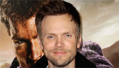 Joel McHale flattered to be called gay: 'If a guy is  offended, something's wrong'