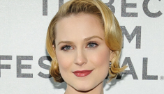 Evan Rachel Wood v. Busy Phillips: who looked cuter in maternity-wear at Tribeca?