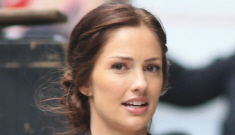 """Minka Kelly goes """"goldie"""" blonde for the summer: really cute or really unfortunate?"""