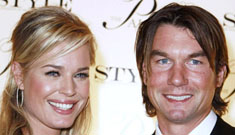 Rebecca Romijn and Jerry O'Connell have twin girls