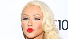 Christina Aguilera reverts back to her clown makeup for Time 100 gala: pretty or ridic?