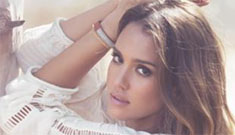 Jessica Alba wore 'a double corset day and night' for three months post-partum