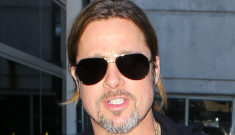 Brad Pitt covers Vanity Fair's June issue, VF says 'WWZ' could be a total disaster