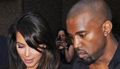 Kanye West came to Greece to pick up Kim Kardashian & bring her to Paris