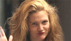 Drew Barrymore dyed her brown hair blonde: cute or fried?
