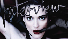 Winona Ryder on the cover of Interview magazine: stunning or dated?