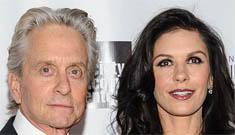 Are Catherine Zeta Jones and Michael Douglas on the verge of a split?