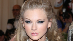 Taylor Swift attempts a princess-y version of punk at the Met Gala: cute or fug?