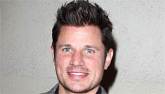 Did Nick Lachey just say that Joe Simpson used to hit on him?