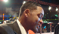 Will Smith and Rosario Dawson thrill fans in Berlin