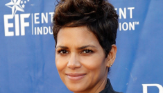 Halle Berry shows off her big baby bump, discusses her Mother's Day plans