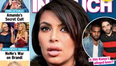 Is Kim Kardashian worried Kanye is gay & with Riccardo Tisci?