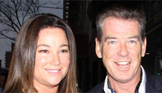 Pierce Brosnan on his onscreen love scenes: 'My wife calls it legal cheating'