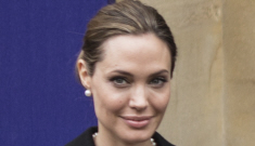 Is Angelina Jolie planning to star in a Brad Pitt-produced bio-pic of her mom?