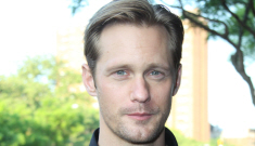Alex Skarsgard looked hot at 'The East' screening in NYC: would you hit it?