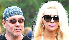 Courtney Stodden goes to Disneyland in a see-through shirt and stripper heels
