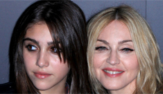 Madonna sends 16-year-old Lourdes on dates with a chaperone: poor Lourdes?