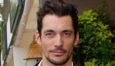 David Gandy loves Paul Newman, Steven McQueen: 'What has happened to men?'