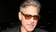 George Clooney & Stacy haven't been seen together since March: what's up?