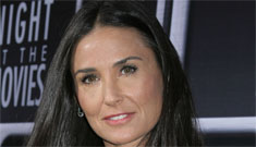Why didn't Demi Moore go to her daughter Scout's college graduation?
