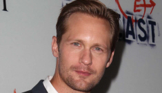 Alex Skarsgard & Ellen Page looked friendly, coupled up at 'The East' premiere